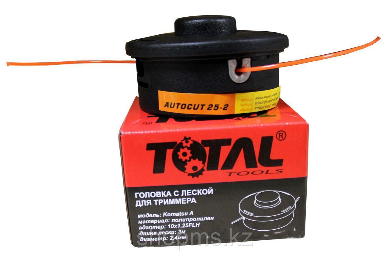 Головка с леской для триммера TOTAL TOOLS