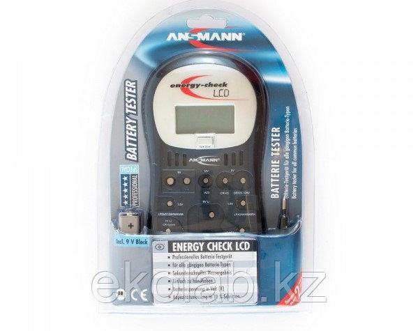 Тестер для батареек и аккумуляторов ANSMANN Energy Check LCD