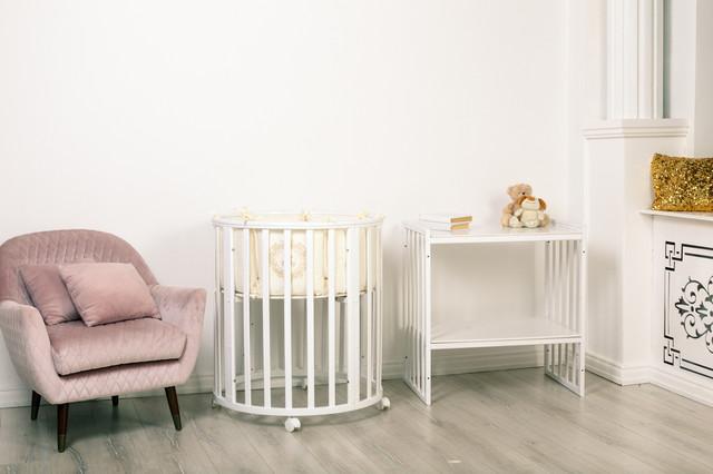 Детская овальная-кровать трансформер