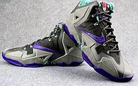 Кроссовки Nikе LeBron XI (11) Blue Black Purple Elite 2014 (40-46), фото 5