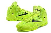 Кроссовки Nike LeBron XI (11) Yellow Elite 2014 (40-46), фото 2