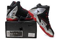 Кроссовки Nike LeBron XI (11) Black Red Elite 2014 (40-46), фото 5