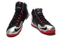 Кроссовки Nike LeBron XI (11) Black Red Elite 2014 (40-46), фото 2