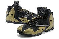 Кроссовки Nike LeBron XI (11) Black Gold Elite 2014 (40-46), фото 3