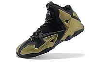Кроссовки Nike LeBron XI (11) Black Gold Elite 2014 (40-46), фото 4