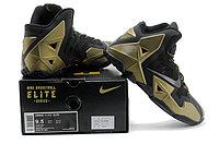 Кроссовки Nike LeBron XI (11) Black Gold Elite 2014 (40-46), фото 6