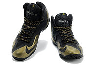 Кроссовки Nike LeBron XI (11) Black Gold Elite 2014 (40-46), фото 2