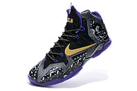 Кроссовки Nikе LeBron XI (11) Gold/Purple/Black/White (40-46), фото 4