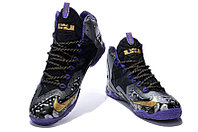 Кроссовки Nikе LeBron XI (11) Gold/Purple/Black/White (40-46), фото 2