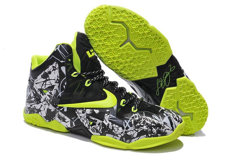 Кроссовки Nike LeBron XI (11) Electric Green (40-46)