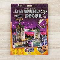 Набор для создания мозаики 'Тауэрский мост' DIAMOND DECOR, планшетка без рамки