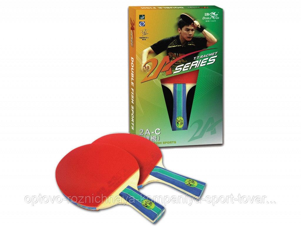 Ракетка для настольного тенниса DOUBLE FISH - 2А-С (ITTF)