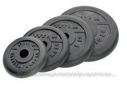 Диски профессиональные обрезиненные d=51 мм (20кг)