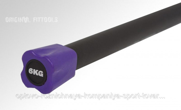Бодибар FT 6 кг пурпурный наконечник
