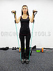 Эспандер трубчатый TOTAL BODY (латекс) черный 18,1 кг, фото 9