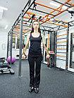 Эспандер трубчатый TOTAL BODY (латекс) черный 18,1 кг, фото 10