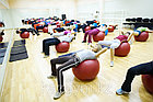 Гимнастический мяч с массажным эффектом 65 см, фото 4