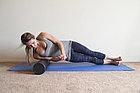 Цилиндр для йоги компактный 30 см EPE розовый (FT-YFMR-30-11-PINK), фото 2