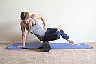 Цилиндр для йоги компактный 30 см EPE розовый (FT-YFMR-30-11-PINK), фото 5