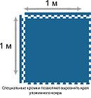 Будо-маты, додянг, татами ласточкин хвост 25мм (Россия), фото 6