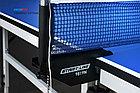 Теннисный стол Start Line Training Optima, 22 мм, без сетки, на роликах, складные регулируемые опоры, фото 6
