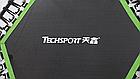 Фитнес батут для джампинга с ручкой Techsport, фото 2