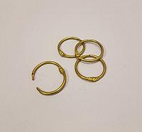 Кольцо для творчества состаренное золото 2,5см