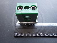 Кронштейн трубный (в комплекте с потайным болтом и фиксирующей подложкой), фото 1