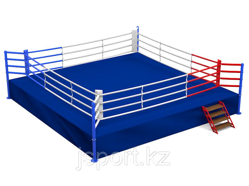 "Ринг ""Олимпийский"" на помосте 7,8 х 7,8 х 1 м по канатам 6 х 6 м"