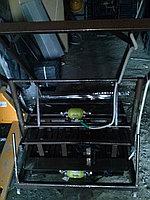 Станок для сплитерного блока Комплект на 4 формы с бетоносмесителем, фото 1