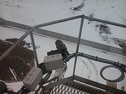 Система IP видеонаблюдения на ПС 110\10 кВ вдоль ж\д Жезказган - Бейнеу 4