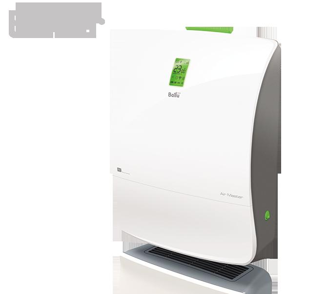 Приточно-очистительный мультикомплекс Ballu Air Master: BMAC-200/Warm СО2