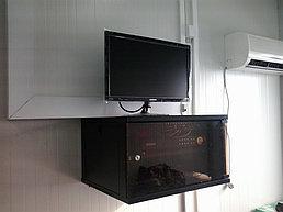 Система IP видеонаблюдения на ПС 110\10 кВ вдоль ж\д Жезказган - Бейнеу 14