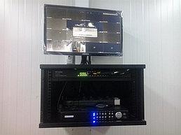 Система IP видеонаблюдения на ПС 110\10 кВ вдоль ж\д Жезказган - Бейнеу 15