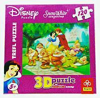 Puzzle TREFL Disney Snow White, 120pcs Пазл Дисней Белоснежка, 120 деталей