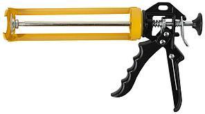 """Пистолет для герметика STAYER """"PROFESSIONAL"""" 0671, скелетный, усиленный, поворотный корпус, 310мл"""