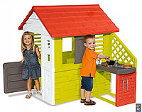 Игровой домик с кухней (красный) 810703