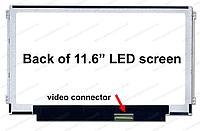 "Экран для ноутбука/ дисплей для ноутбука (матрица)11,6"" Slim / B116XW03 V.0"