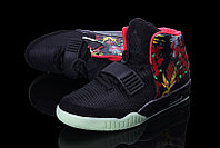 Кроссовки Nike Air Yeezy 2 NRG Black Graffiti (40-46), фото 2