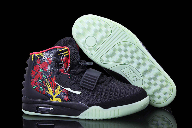 Кроссовки Nike Air Yeezy 2 NRG Black Graffiti (40-46)