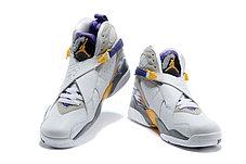 Nike Air Jordan 8 баскетбольные кроссовки, фото 3