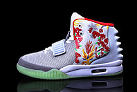 Кроссовки Nike Air Yeezy 2 NRG White Graffiti (40-46), фото 4