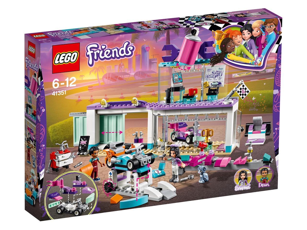 41351 Lego Friends Мастерская по тюнингу автомобилей, Лего Подружки