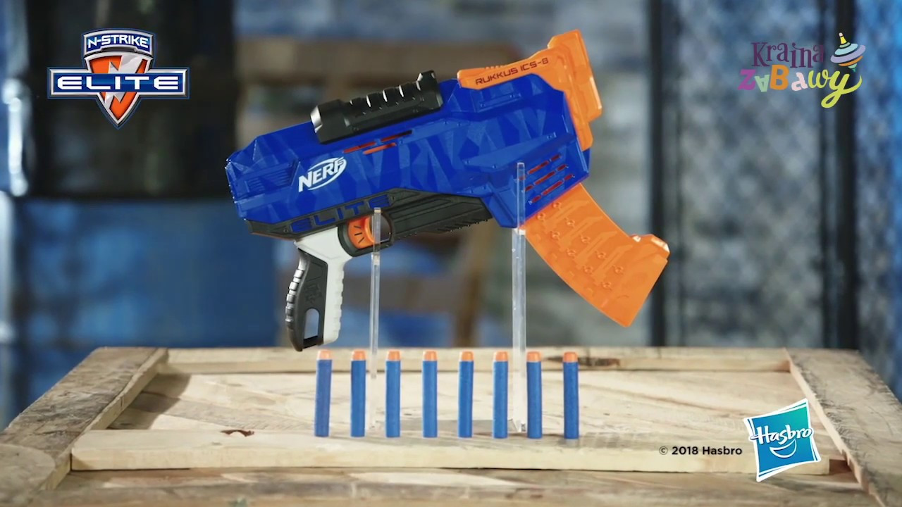 Nerf N-Strike Elite Руккус ICS-8