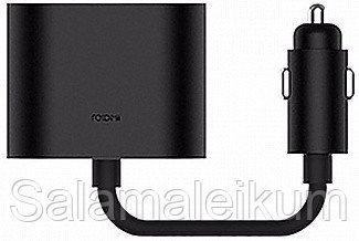 Адаптер RoidMi 1 to 2 charger adapter Black