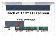 "Экран для ноутбука/ дисплей для ноутбука (матри  17,3""  Full HD /  B173HW02 V.1 ( LP173WF1 ( TLXB3)"