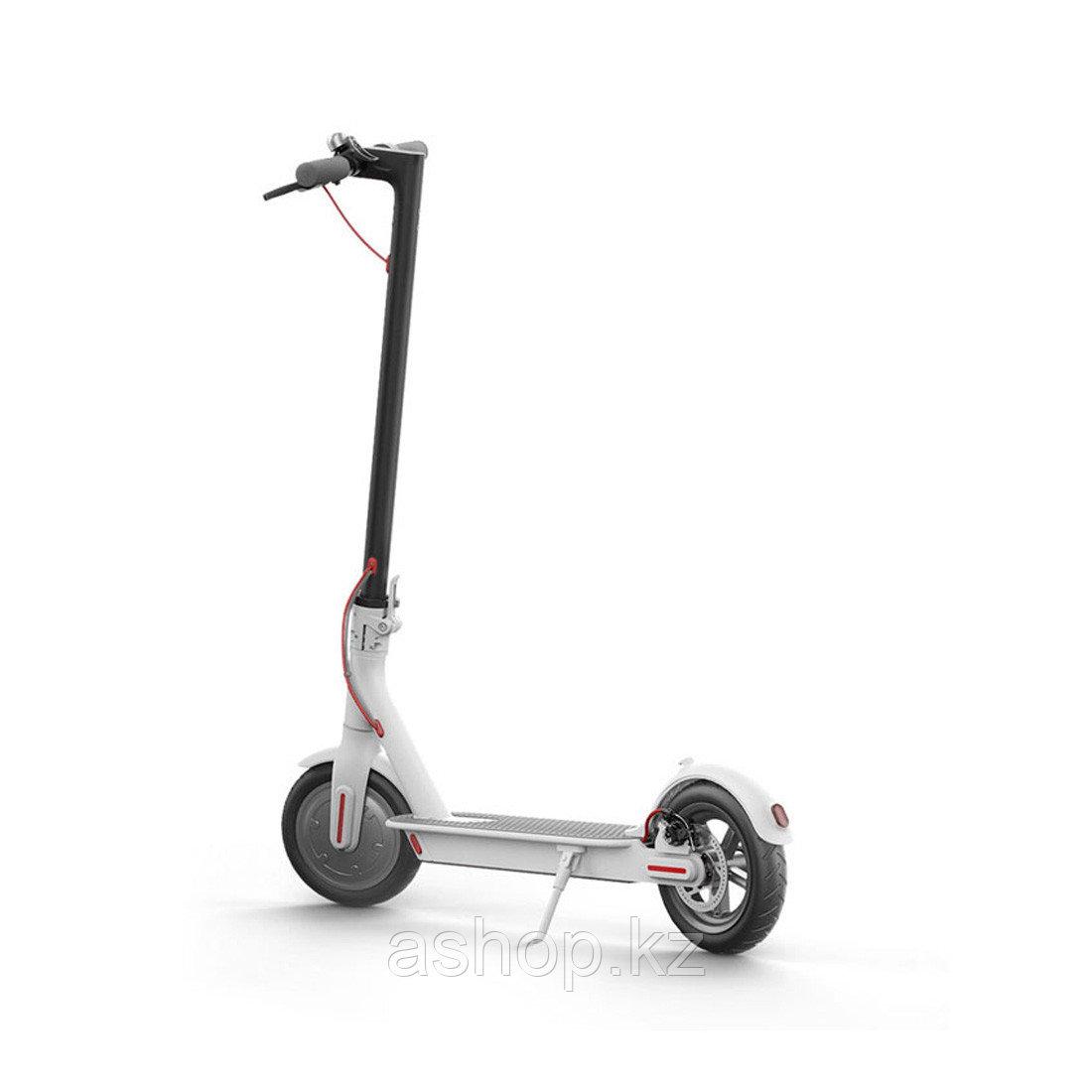 Самокат электрический Xiaomi Mi Electric Scooter, Скорость (max.): 25 max., 18 круиз км\ч, Запас хода: 35 км,