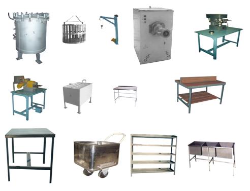 Комплект оборудования для производства тушенки в стеклянные и жестяные банки, производительность до 5 т/смена