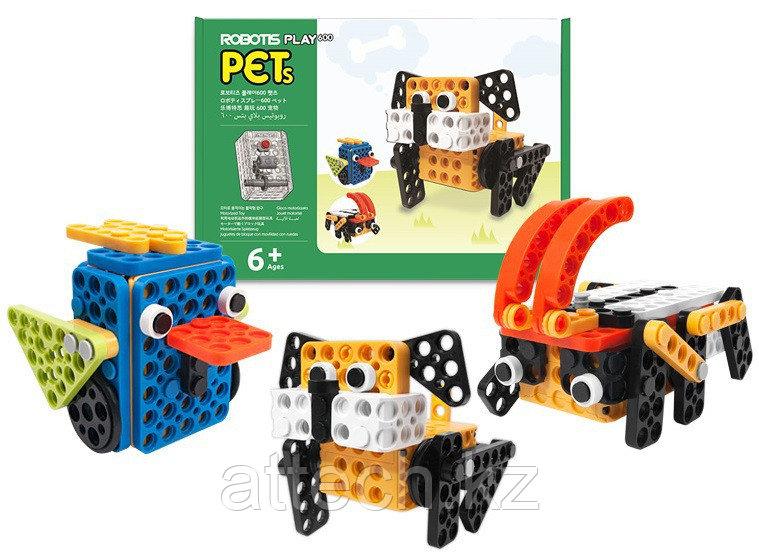 Набор для конструирования роботизированный ROBOTIS PLAY 600 PETs (Домашние животные)