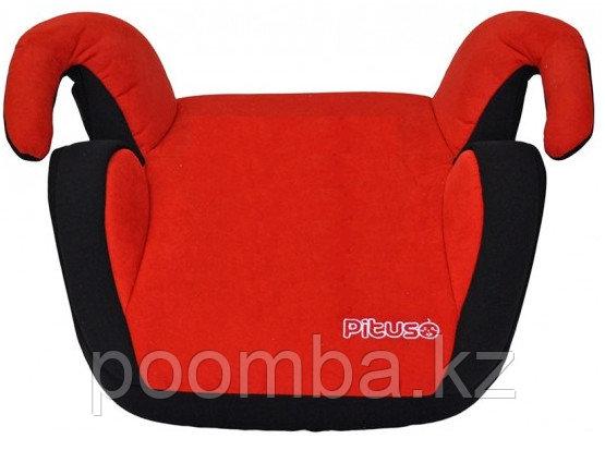 PITUSO Бустер RED/BLACK красный/черный